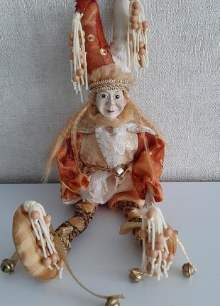 Кукла, статуэтка, фигурка, эльф, гном