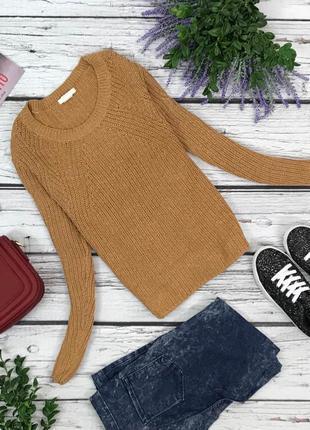 Комфортный пуловер-оверсайз с фактурной вязкой  sh42106