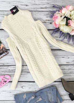 Оригинальный фактурный свитер by very   sh42117