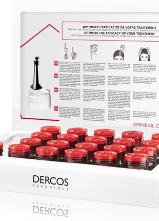 Средство против выпадения волос комплексного действия vichy dercos aminexil clinical