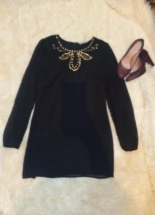 Чорна сукня, черное платье