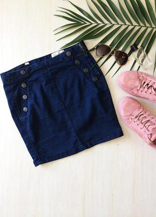 Крутейшая джинсовая юбка pull & bear, рр m