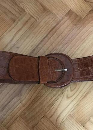 Country casuals-актуальный кожаный широкий ремень!