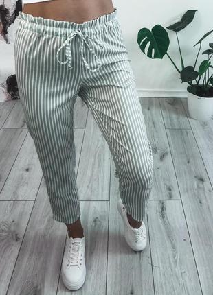 Женские брюки лён