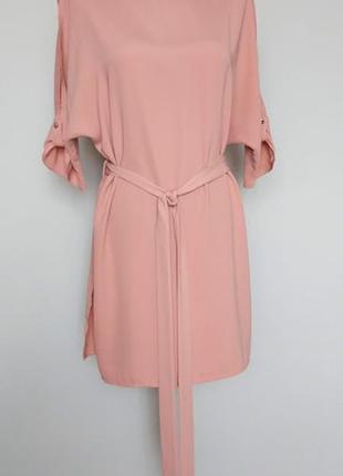 Блуза-туника свободная под пояс. 10(38)