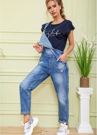 Комбинезон джинсовый1 фото