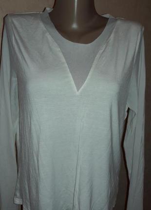 Нежнейшая комбинированная трикотажная блузочка!