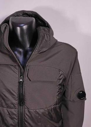Куртка c.p. company nylon jacket / оригинал италия микропуховик в стиле stone island