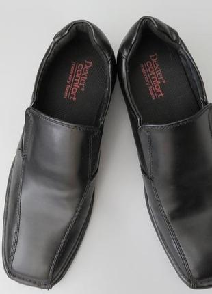 Кожаные мужские туфли dexter comfort memory.