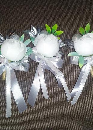 Свадебные бутанерочки