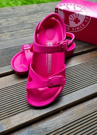 Сандали детские пляжные birkenstock для девочки
