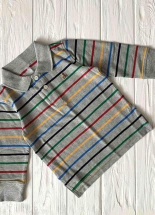 Поло gap для мальчика на 3 года реглан футболка