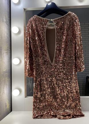 Платье пайетки2 фото