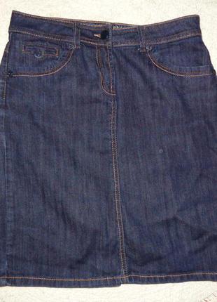 Классная джинсовая юбка cherokee по сезону!