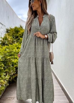 Женское  красивое шелковое  платье 42-48