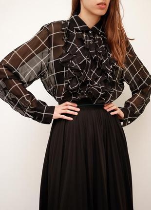 Шелковая блуза ralph lauren