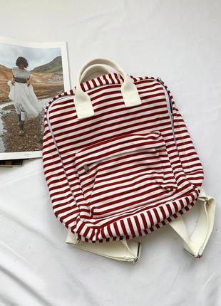 Рюкзак, сумка, сумочка, в полоску, полосатий, полосатый, clockhouse, c&a