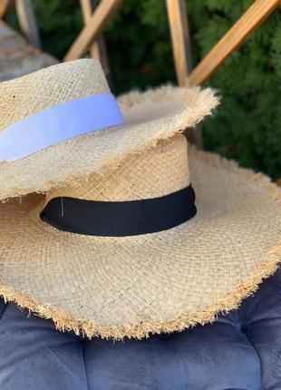 🦋солом'яна шляпа капелюх 🦋