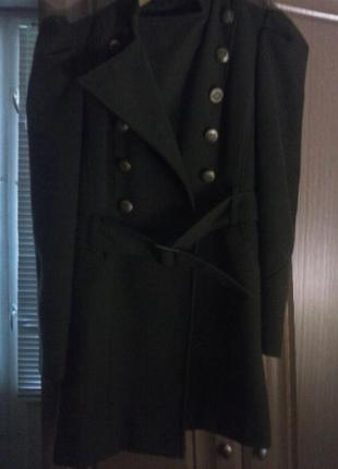 Пальто милитари