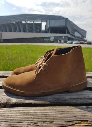 Туфлі clark's оригінал з європи ботинки мужские