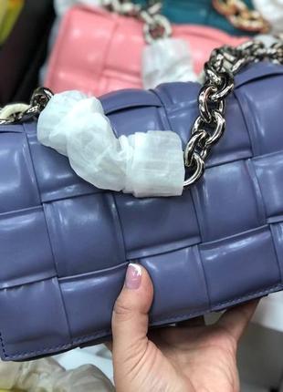 Кожаная сумочка bottega veneta