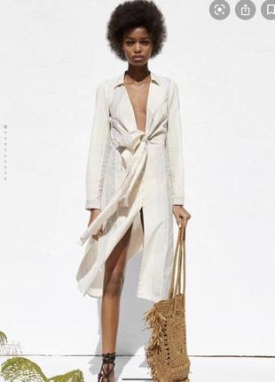 Сорочка плаття zara