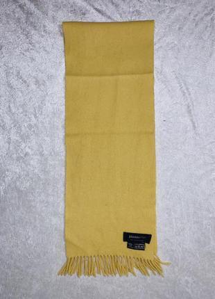 Шотландский шерстяной шарф johnstons of elgin