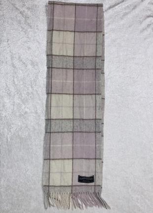 Шерстяной шарф james pringle weavers