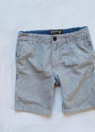 Lyle&scott стильные шорты на мальчика 10-11 лет