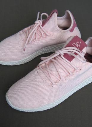Adidas pharrell williams tennis hu (37) кроссовки женские