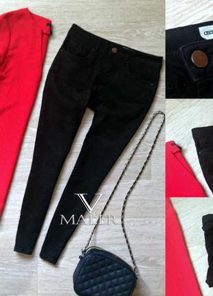 Черные джинсы скинни asos