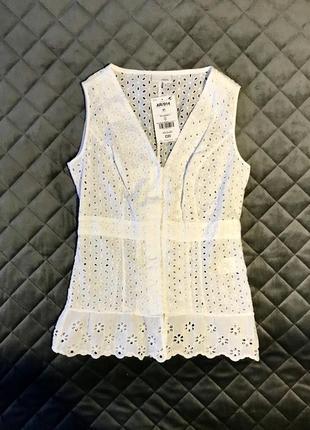 Легкая натуральная блуза s/m next англия 🏴 оригинал