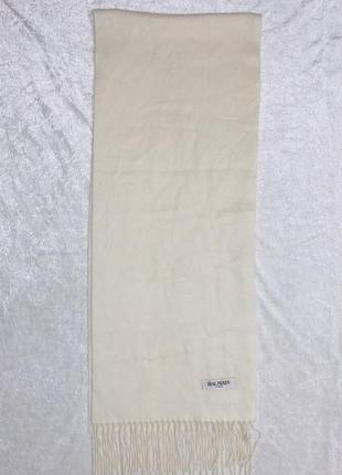 Мягкий шерстяной ангора шарф balmain paris