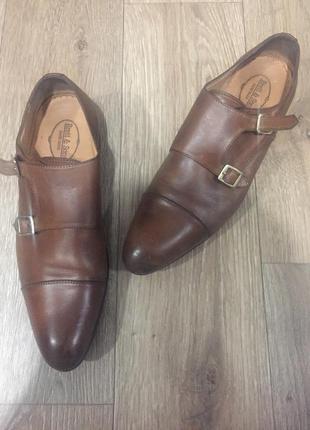 Туфли элегантные кожаные brett&sons