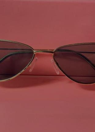 Солнцезащитные очки «кошачий глаз» женские, винтажные маленькие брендовые дизайнерские солнечные очки3 фото