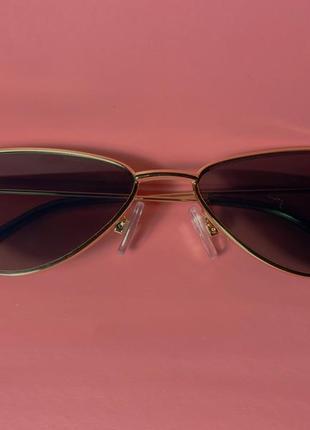 Солнцезащитные очки «кошачий глаз» женские, винтажные маленькие брендовые дизайнерские солнечные очки2 фото