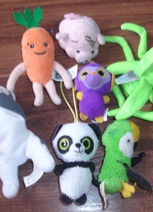 Маленькие мягкие игрушки одним лотом