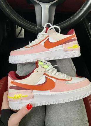 Nike air force замш/кожа