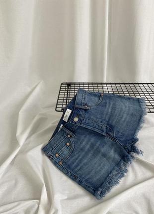 Джинсовые шорты mango2 фото