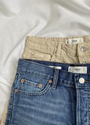 Джинсовые шорты mango1 фото