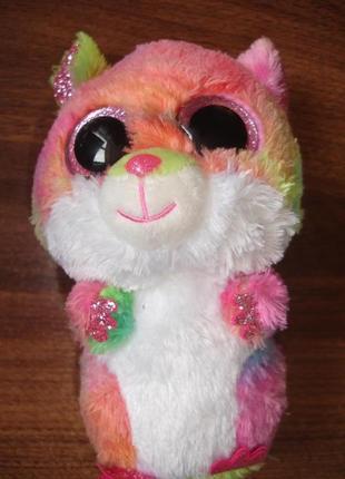 Мягкая игрушка глазастик хома в идеале 20 см