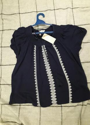 Красивая блузочка с вышивкой