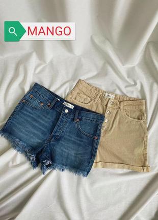 Джинсовые шорты mango3 фото