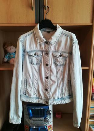Стильная джинсовая куртка pimkie