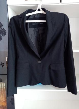 Чорний жакет пиджак1 фото