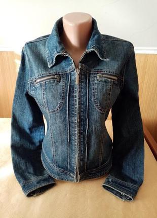 Джинсовая куртка джинсова курточка джинсовка