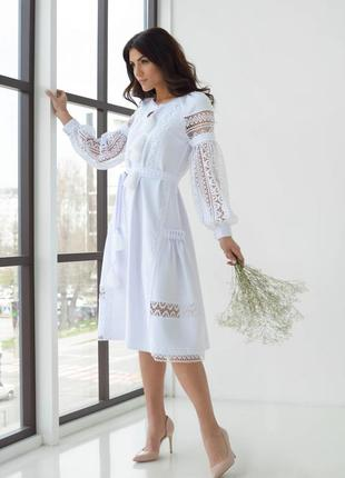 Нарядное дизайнерское платье в стиле бохо, р. 36, 38-40
