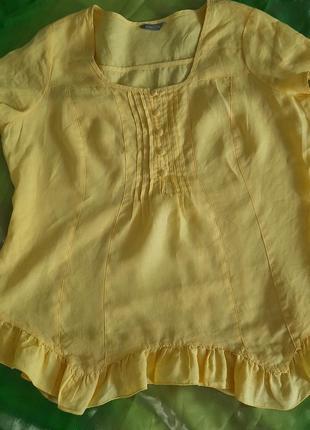 Класна лляна блузка per una