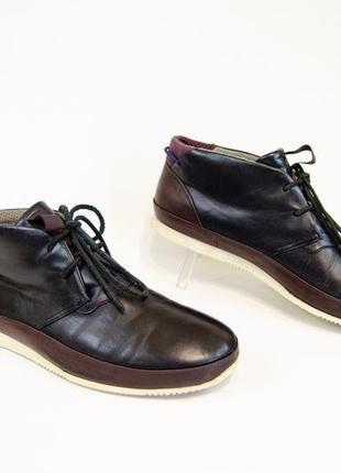 Paul smith мужские кожаные полуботинки оригинал! размер 43 28 см