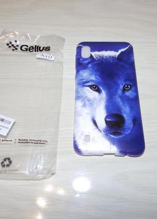 Чехол samsung galaxy a10 (a105f) волк